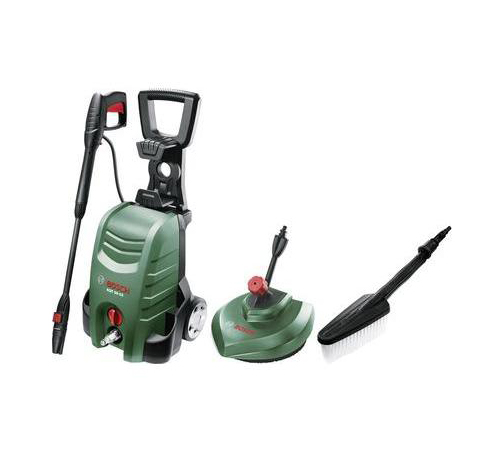 Bosch AQT 35-12 Combi kit 120 bar, 350 L/Hr, 1500W, includes patio cleaner & brush