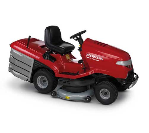 Honda Hf2622HTE 122cm cut, Hydrostatic drive, Inbuilt versamow, Electric lift, 680cc GXV660 Twin cyl Honda engine